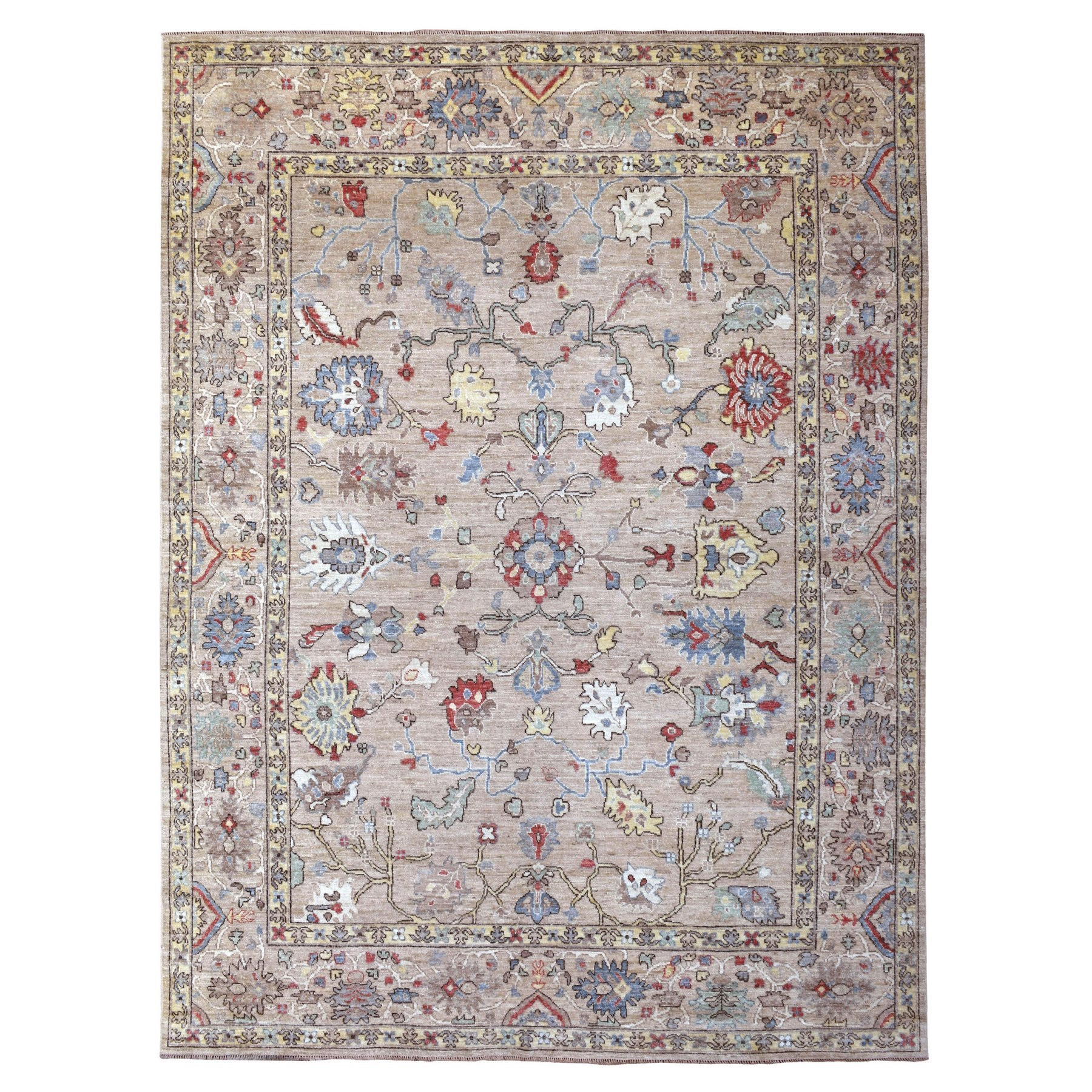 Oushak And PeshawarRugs ORC606987